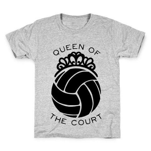 Queen Of The Court (Long Sleeve) Kids T-Shirt