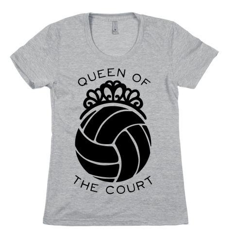 Queen Of The Court (Long Sleeve) Womens T-Shirt