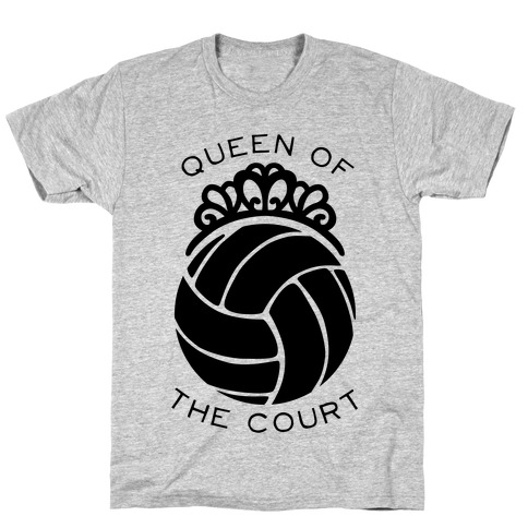 Queen Of The Court (Long Sleeve) T-Shirt