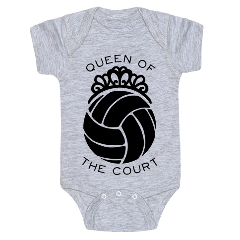 Queen Of The Court (Long Sleeve) Baby Onesy