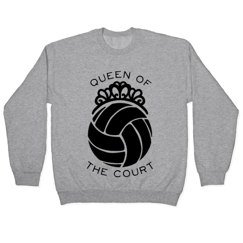 Queen Of The Court (Long Sleeve) Pullover
