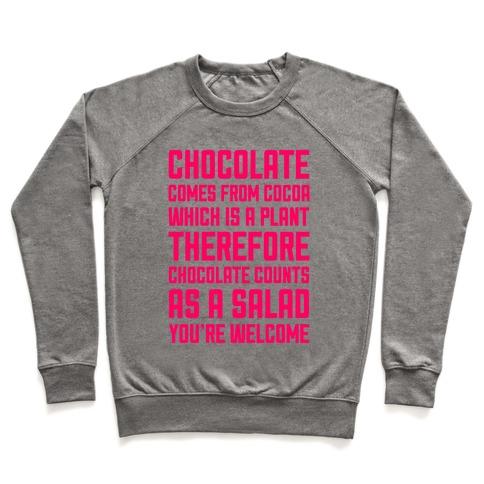 Chocolate Salad Pullover
