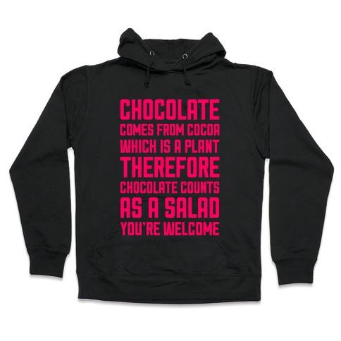 Chocolate Salad Hooded Sweatshirt