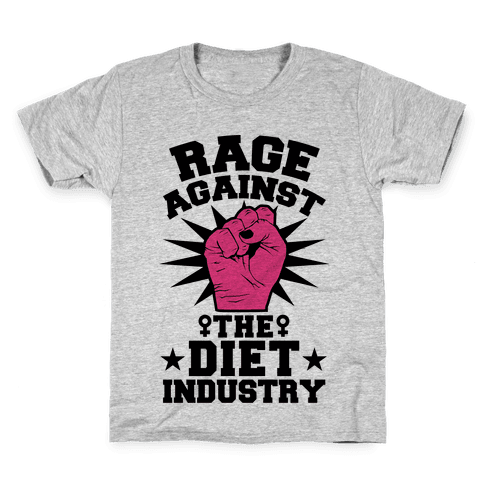 Rage Against the Diet Industry Kids T-Shirt