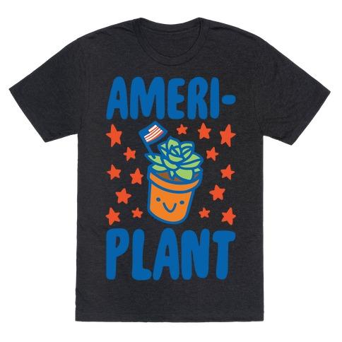Ameriplant White Print T-Shirt