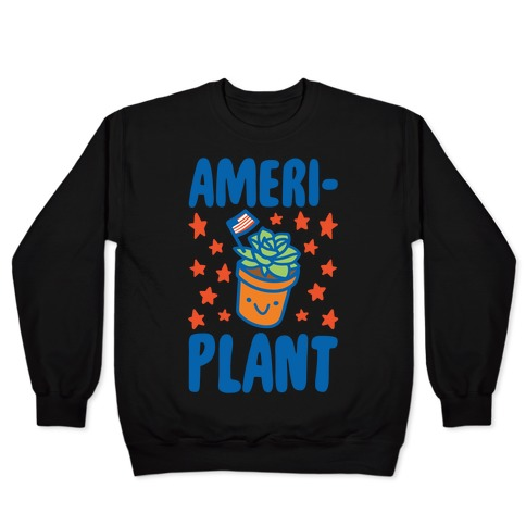 Ameriplant White Print Pullover