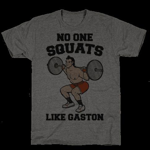 No One Squats Like Gaston Parody
