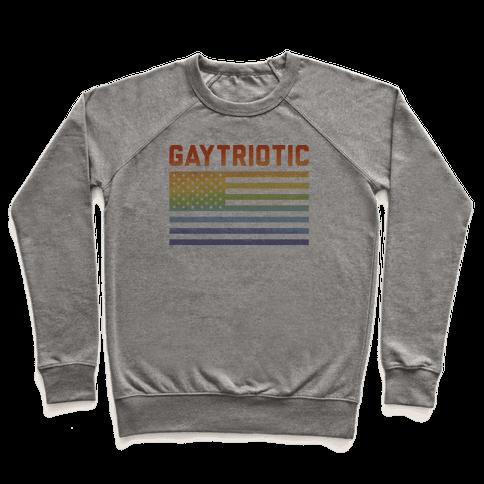 Gaytriotic Pullover