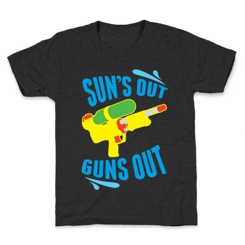 Suns Out, Guns Out Kids T-Shirt