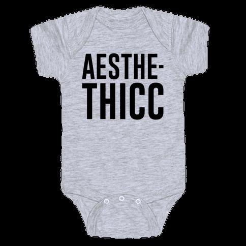 Aesthethicc Parody Baby Onesy