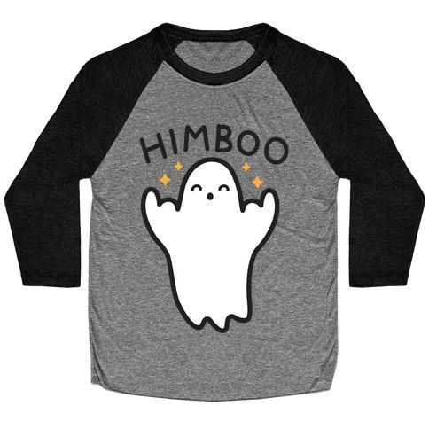Himboo Ghost Himbo Baseball Tee