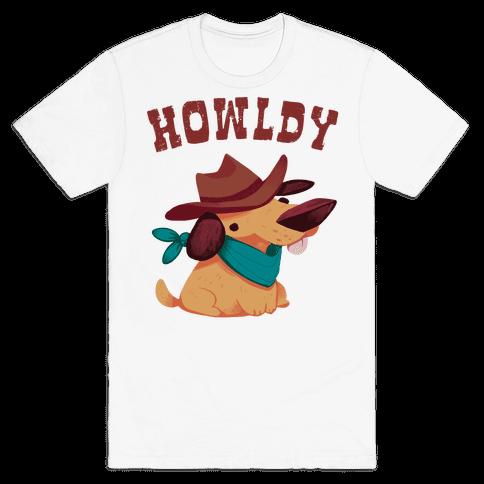 Howldy Mens/Unisex T-Shirt