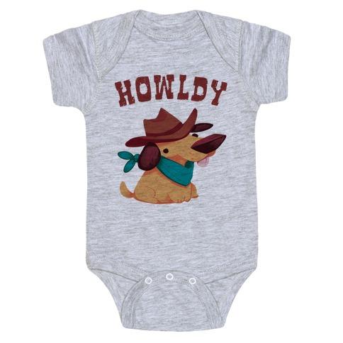 Howldy Baby Onesy