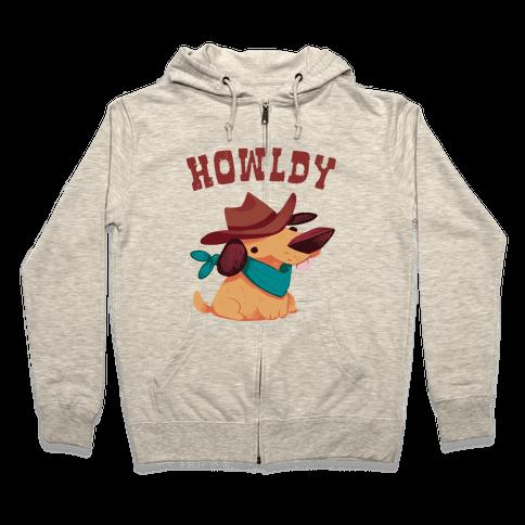 Howldy Zip Hoodie