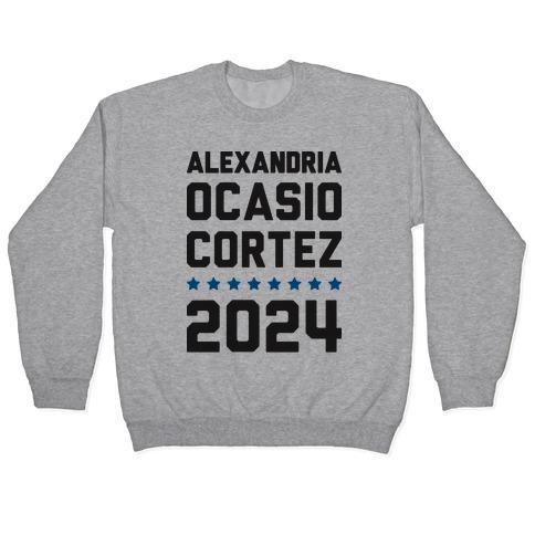 Alexandira Ocasio-Cortez 2024 Pullover