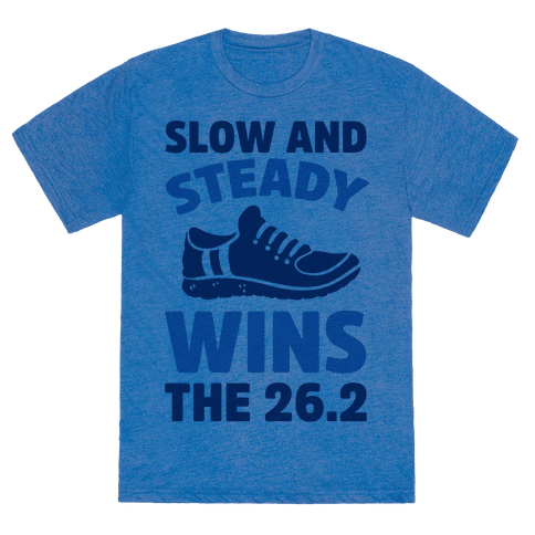 Slow And Steady Wins The 26.2