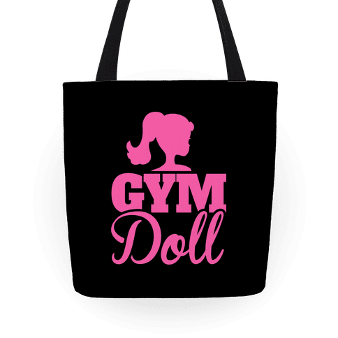 5c57c5226cfe Gym Doll Tote Bag
