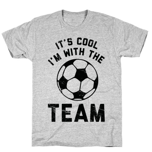 It's Cool I'm With the Team Mens T-Shirt