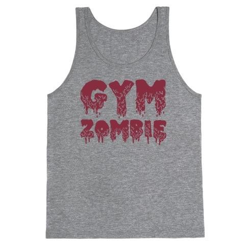 Gym Zombie Tank Top