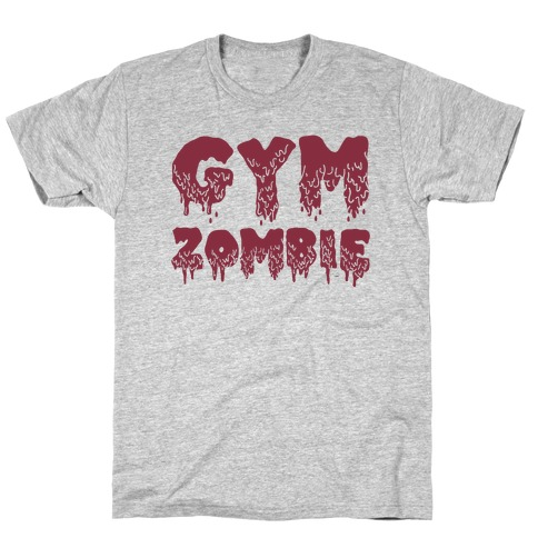 Gym Zombie Mens T-Shirt