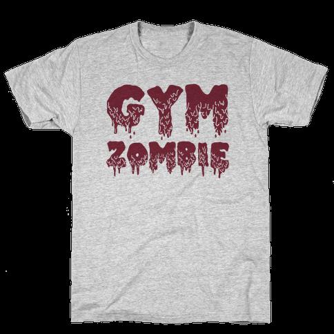 Gym Zombie Mens T-Shirt