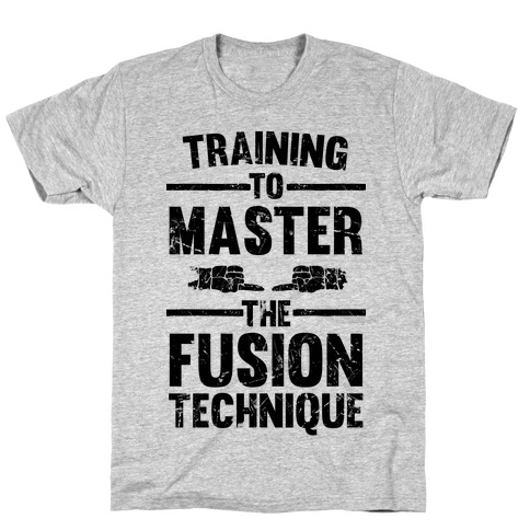 Training To Master The Fusion Technique T-Shirt