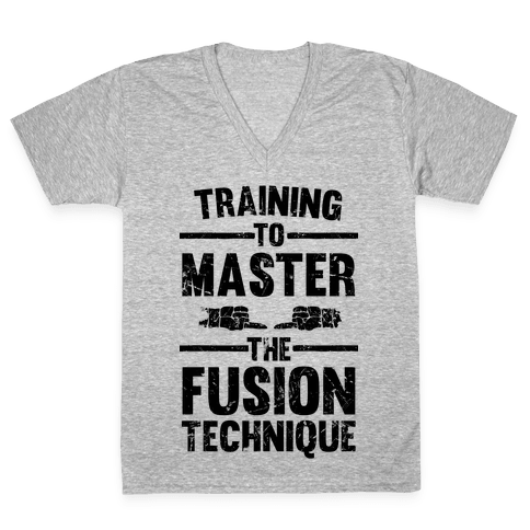 Training To Master The Fusion Technique V-Neck Tee Shirt