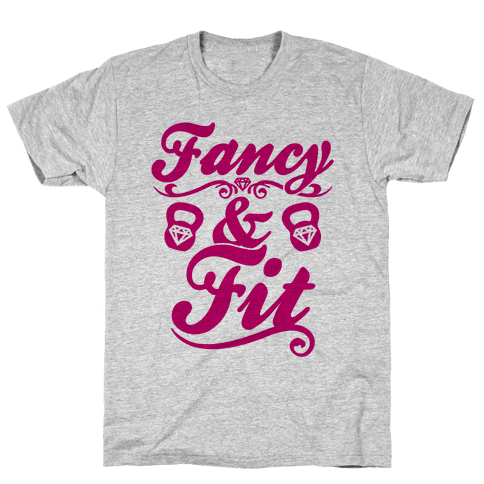 Fancy And Fit Mens T-Shirt