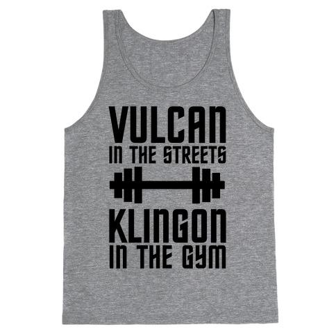 Klingon in the Gym Tank Top