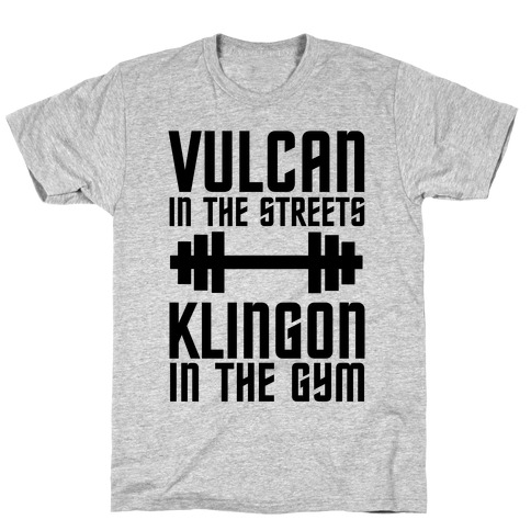 Klingon in the Gym T-Shirt