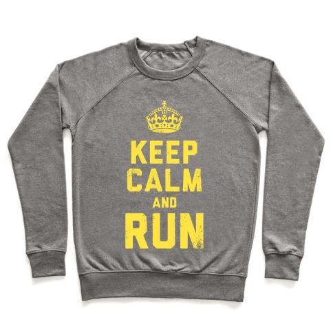 Keep Calm and Run (Dark Tank) Pullover
