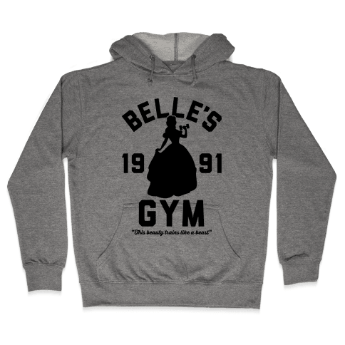 Belle's Gym Hooded Sweatshirt