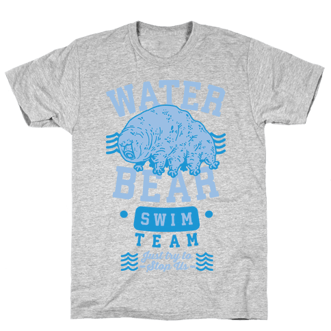 Waterbear Swim Team Mens T-Shirt