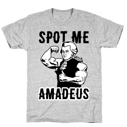 Spot Me Amadeus Mens T-Shirt