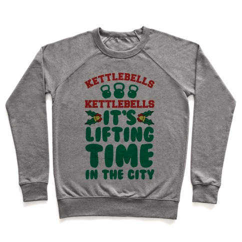 Kettlebells Kettlebells It's Lifting Time in the City Pullover