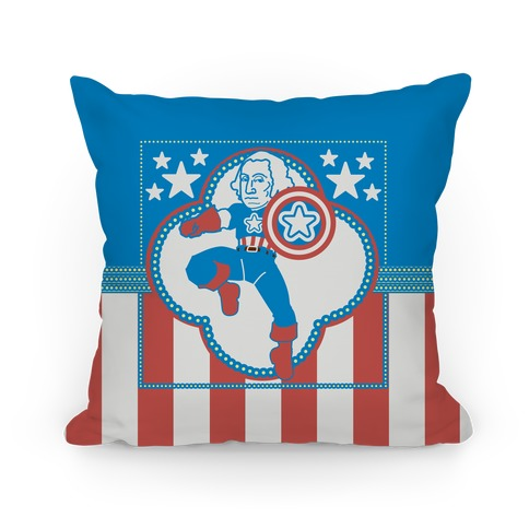 The Star Spangled Man Pillow