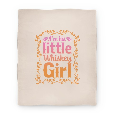 Little Whiskey Girl (Blanket) Blanket