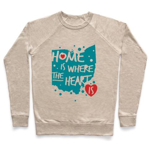 87bcb856643c Home Is Where The Heart Is Crewneck Sweatshirt