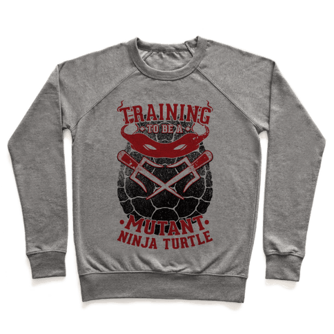 Training To Be A Mutant Ninja Turtle Pullover
