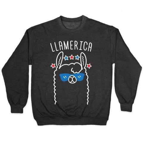 Llamerica American Llama Pullover