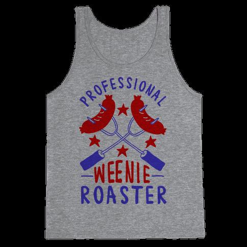 Professional Weenie Roaster Tank Top