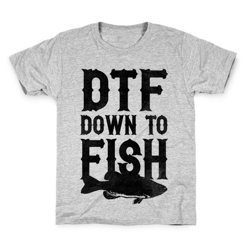 Down To Fish Kids T-Shirt