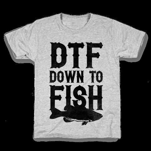 Down To Fish Kids T-Shirt