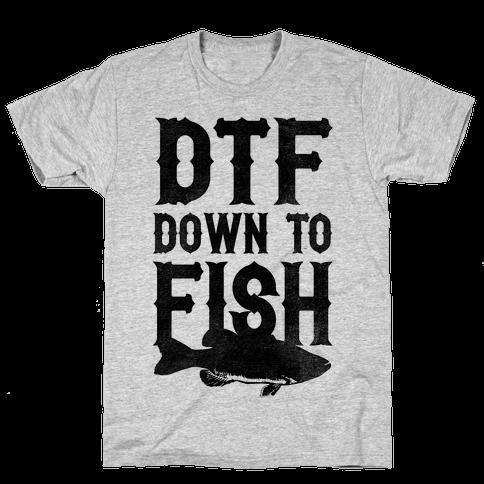 Down To Fish Mens T-Shirt