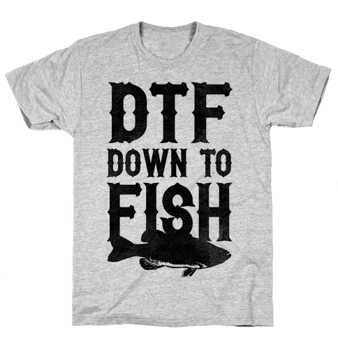 Down To Fish Mens T-Shirt