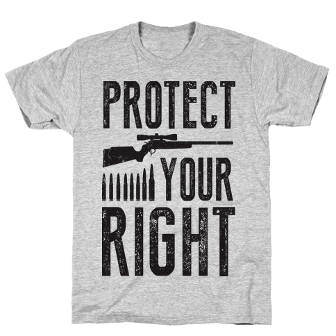Protect Your Right (Political) Mens T-Shirt