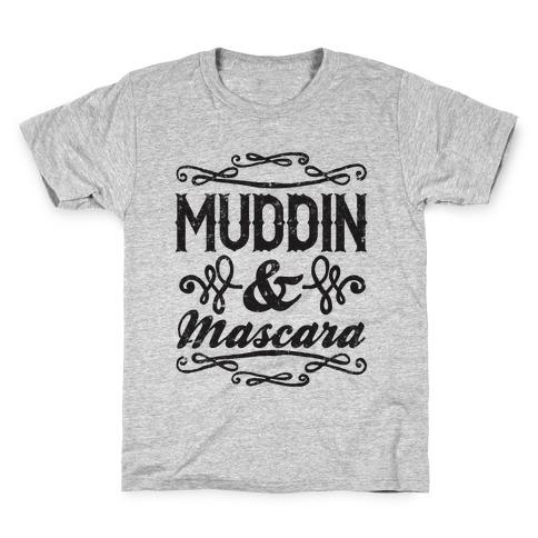 Muddin' and Mascara Kids T-Shirt