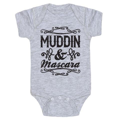 Muddin' and Mascara Baby One-Piece