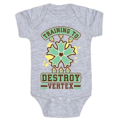 Training to Destroy Vertex Itsuki Baby Onesy