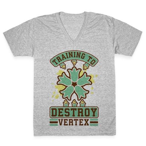 Training to Destroy Vertex Itsuki V-Neck Tee Shirt